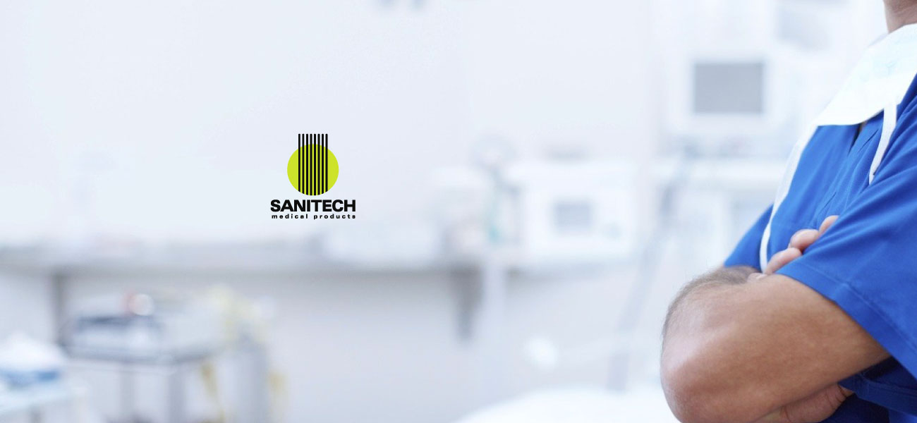 sanitech medical products logo